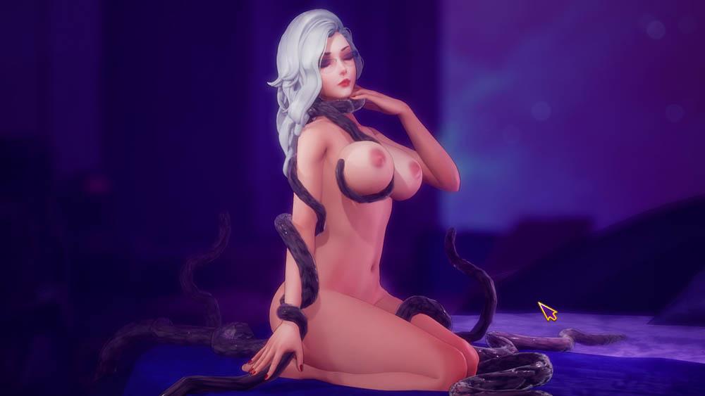 個性豊かな美女達との卑猥な性交を楽しめるシミュレーションパート